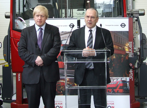 Passengers will have the chance to question TfL Commissioner Peter Hendy (right)