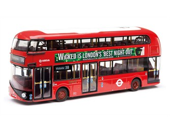 Corgi produce the die cast models under licence from TfL. Image: Corgi
